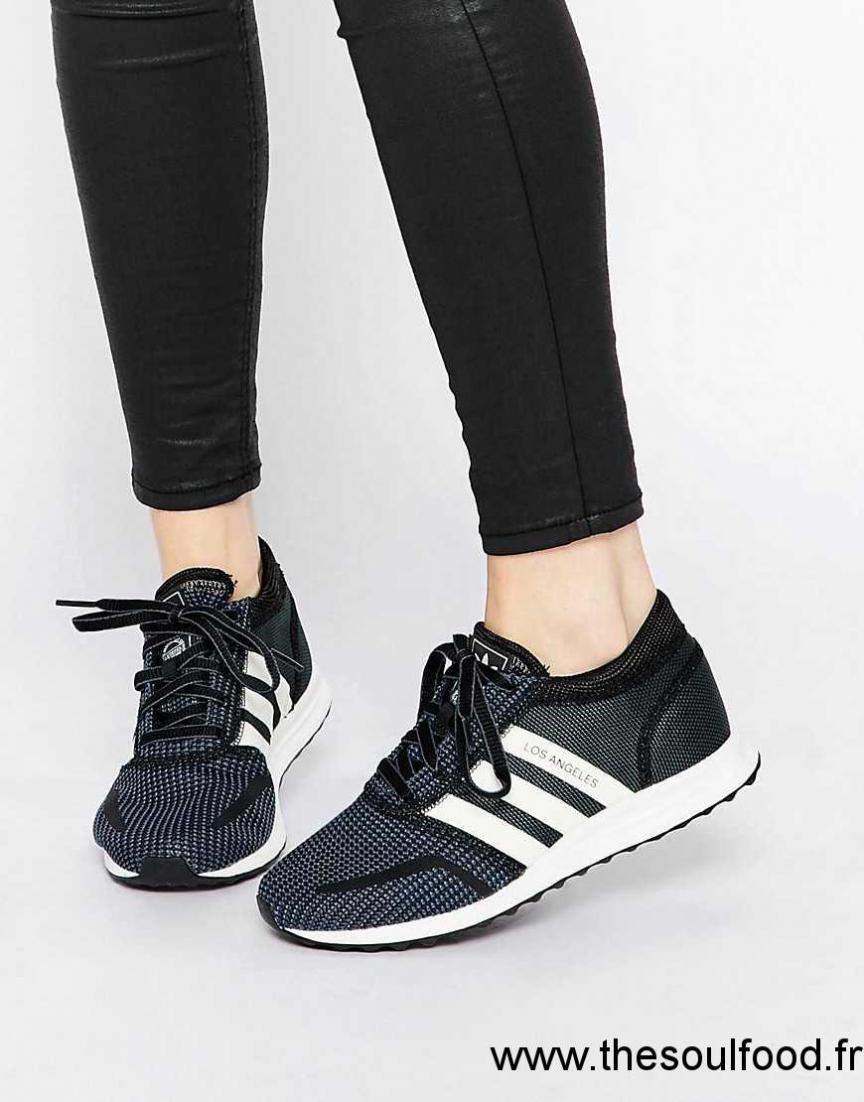 design de qualité 50bbe 9a55d Adidas Originals - Los Angeles - Baskets - Noir Et Blanc ...