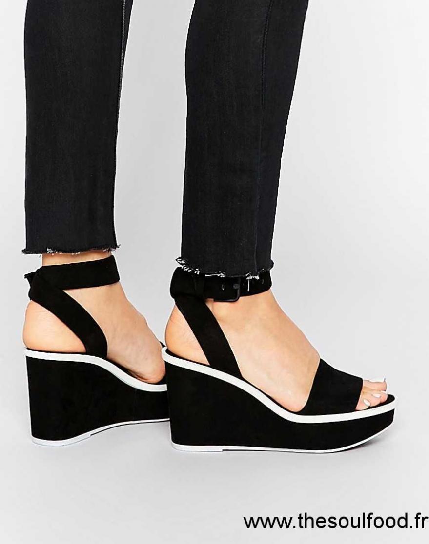 Maygan Aldo Compensées Sandales Noir Chaussures Femme hQrtdxCs