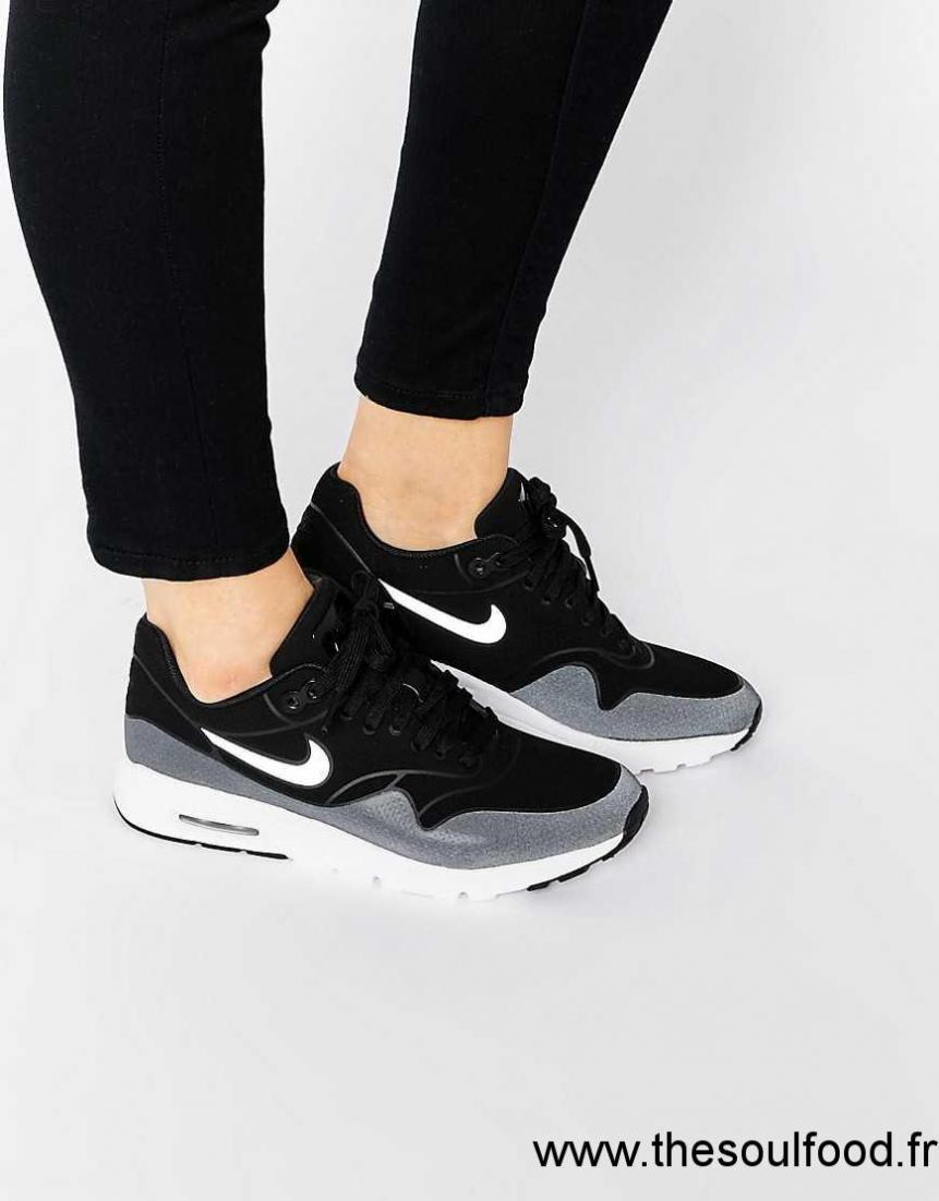 best deals on wholesale dealer the latest Nike - Air Max 1 Ultra Moire - Baskets - Noir Et Blanc Femme ...