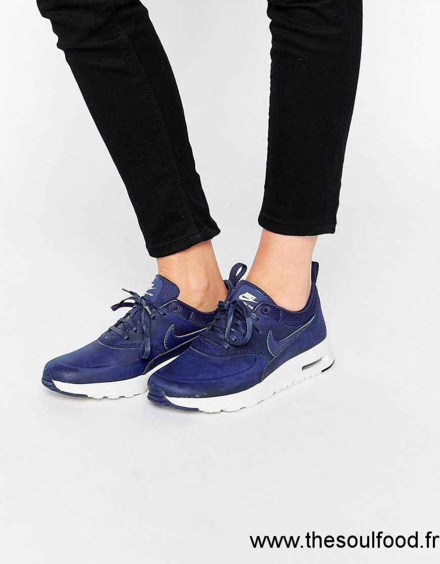 grand choix de f5874 8e41c Nike - Air Max Thea - Baskets - Bleu Fidèle Femme Bleu Loyal ...