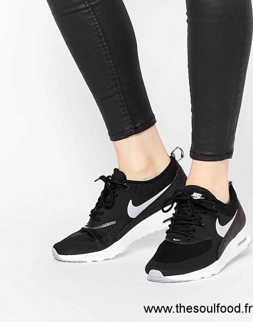 2db2075307f0 Nike - Air Max Thea - Baskets - Noir Femme Noir Chaussures