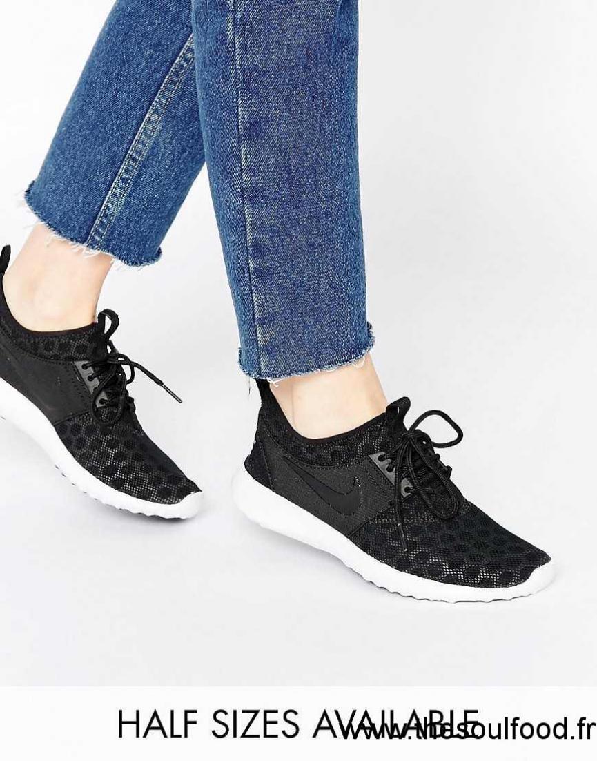 nouveau style 3d7d4 3d6a1 Nike - Juvenate - Baskets - Noir Et Blanc Femme Noir Et ...