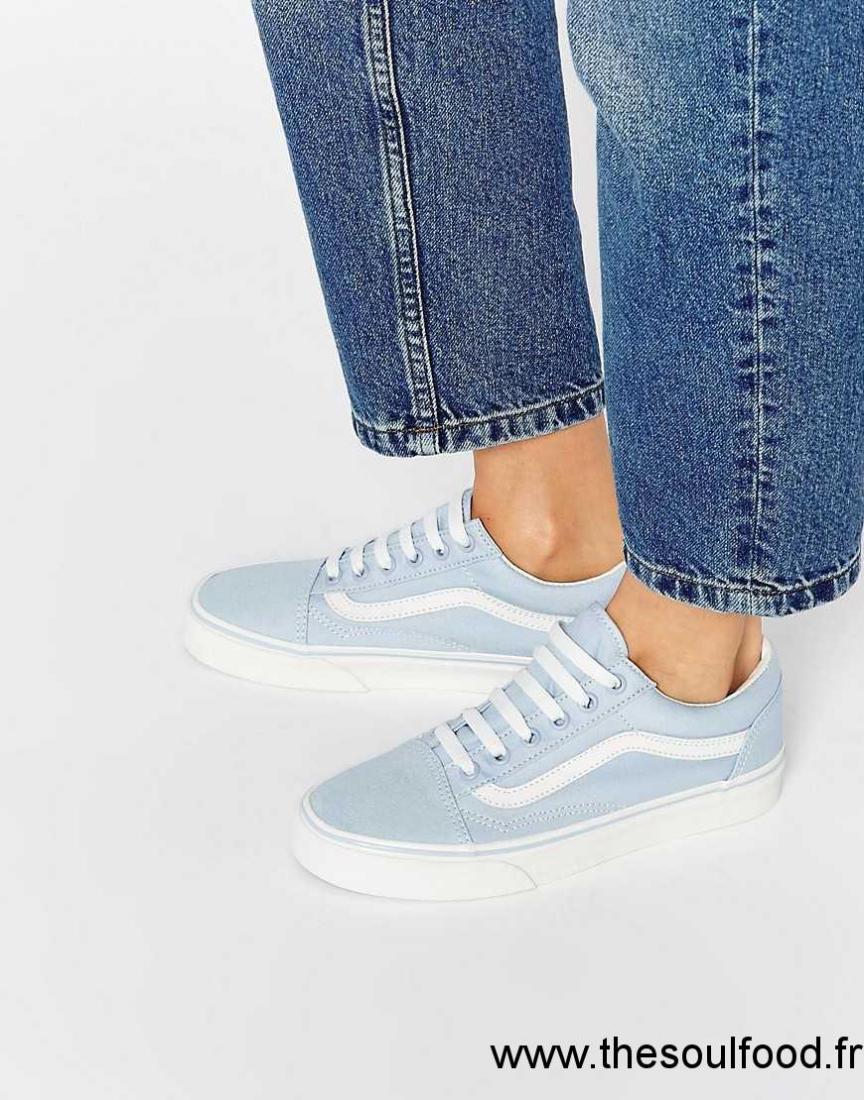 chaussure femme vans bleu