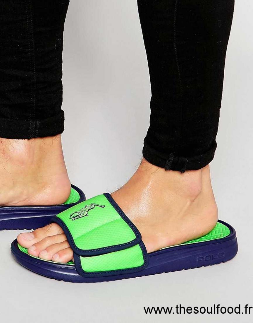 Tongs Homme Chaussures Vert Romsey Ralph Polo Lauren 6gfYbyvI7