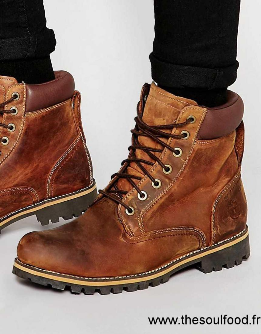 Pouces Brutes Bottes Homme Timberland Marron 6 Chaussures nX0O8wPk